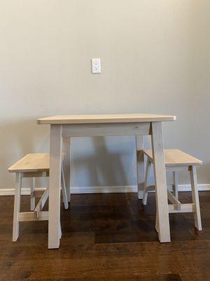 Birch IKEA Breakfast Table & Stools for Sale in Scottsdale, AZ