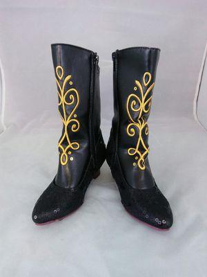 Disney Frozen Anna Cowboy Boots size 11/12 for Sale in San Bernardino, CA