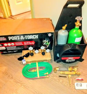 Lincoln Electric Port-A-Torch Oxy- Acetylene Torch Set Brand New.$200 obo or trade for Sale in Long Beach, CA