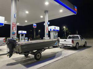 14ft Aluminum Valco Fishing Boat for Sale in Arcadia, CA