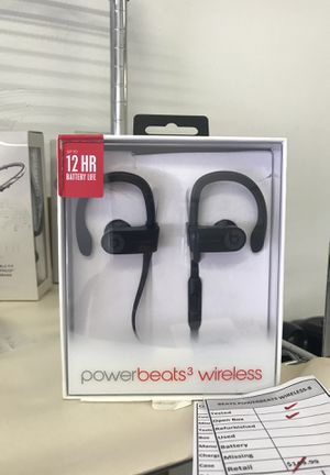 Powerbeats like new in box for Sale in Virginia Beach, VA