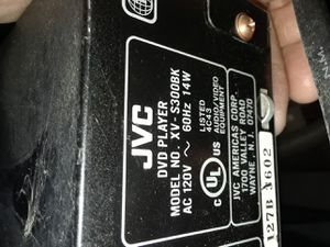 JVC Dvd player works $5 for Sale in Oakley, CA