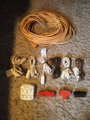 Extension cord bundle for Sale in Georgetown, KY