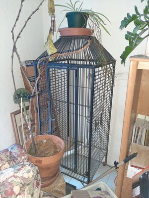 Two 6 foot bird cages by 2 feet asking 400 for both for Sale in Las Vegas, NV