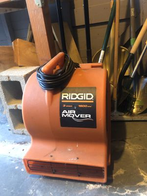 Ridgid Air Mover for Sale in San Diego, CA