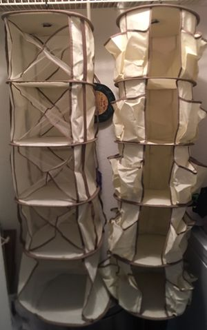 Canvas Closet Organizers for Sale in Grapevine, TX