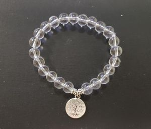 **NATURAL STONE - Clear Crystal Tree Of Life Bracelet (master healer, calm emotions, block negative energy) for Sale in Rancho Cucamonga, CA