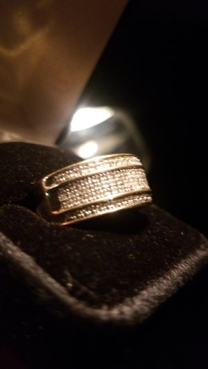 10kt yellow gold diamond Accent Men Ring for Sale in Lynchburg, VA