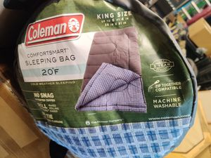 NEW COLEMAN KING SIZE SLEEPING BAG for Sale in Chicago, IL