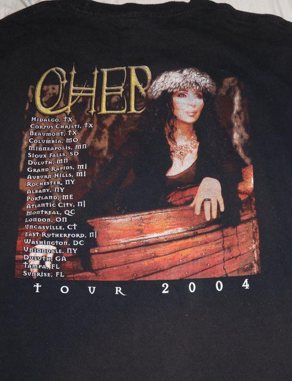 Cher 2004 Tour Tshirt