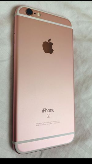 iPhone 6s unlocked with warranty for Sale in Sugar Land, TX