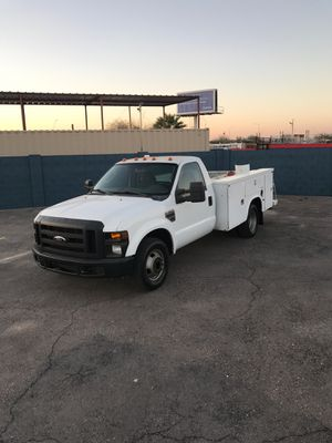 2008 Ford f350 utility!! for Sale in Phoenix, AZ