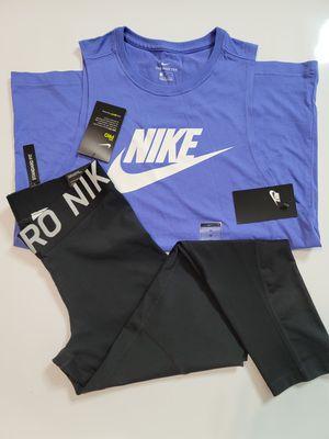 Nike women leggings and shirt - Medium for Sale in Bell, CA
