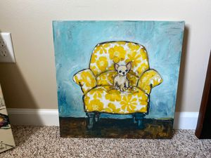 Canvas Wall Art 18.5x18.5 •Moving• for Sale in Evansville, IN