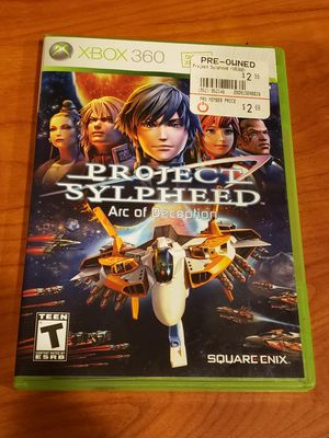 XBOX 360 Project Sylpheed: Arc of Deception. for Sale in Chambersburg, PA