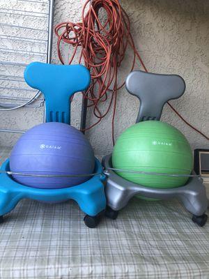 Gaiam Kids Balance Ball Chair $20 each for Sale in Whittier, CA