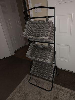 3 tier storage rack for Sale in Miami, FL