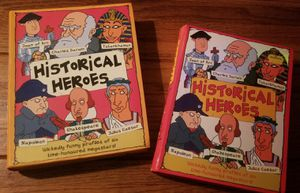 "Childrens books - ""Historical Heroes"" (Miles Kelly) for Sale in Windsor Hills, CA"