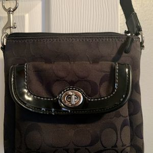 Coach Crossbody Purse - Black for Sale in Pflugerville, TX