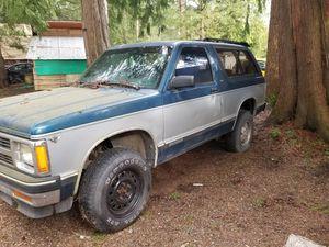 1991 Chevy Blazer 2 door 4wd for Sale in South Prairie, WA