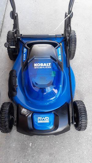 Beautiful lawn mower four-wheel drive $170 for Sale in Davenport, FL
