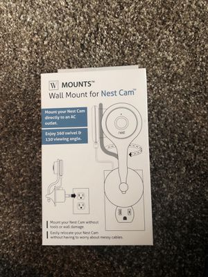 Wall mount for nest cam for Sale in Red Lion, PA