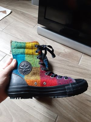Colorful Hightop Converse Size 6.5 for Sale in Orlando, FL