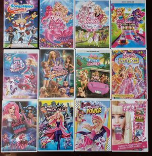 Various Barbie Movies- DVDs for Sale in Chicago, IL