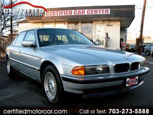 1998 BMW 7 Series for Sale in Fairfax, VA