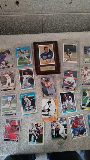 Baseball collectible cards for Sale in Denver, CO