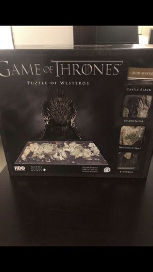 game of thrones, GOT, 3D puzzle, 1400+ pieces for Sale in Los Angeles, CA
