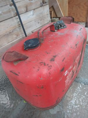 Vintage OMC outboard motor 5 gallon gas tank for Sale in Austin, TX