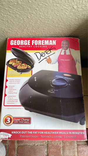 George Foreman Grill New in Box for Sale in Lafayette, CA