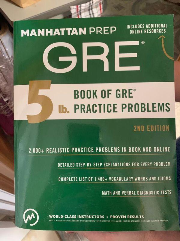 GRE book