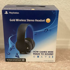 Sony Gold Wireless Bluetooth Headset for Sale in Albuquerque, NM
