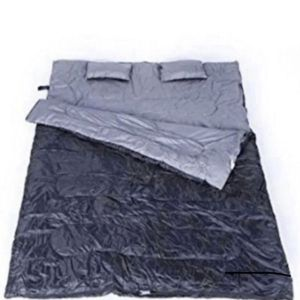 Brightown 2 person giant double sleeping bag comfortable temperature 32F-50F for Sale in Tacoma, WA