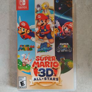 Super Mario 3d All-stars-Nintendo Switch for Sale in Redmond, OR