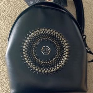 Philipp Plein Leather Backpack for Sale in Alexandria, VA