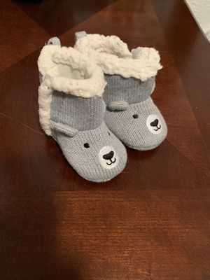 0-6 month baby boots like new for Sale in Saint Paul, MN