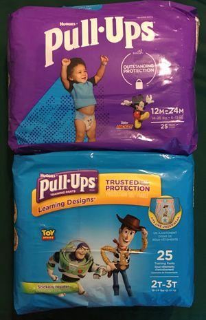 Huggies Pull-ups for Boys 25ct (Pack of 2) for Sale in Atlanta, GA