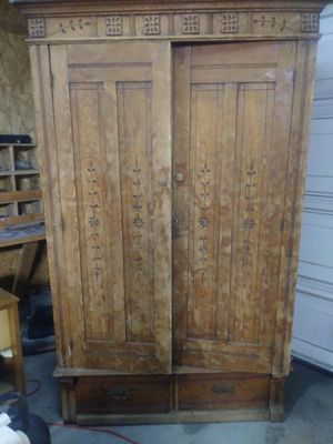Antique Armoire for Sale in Butte, MT