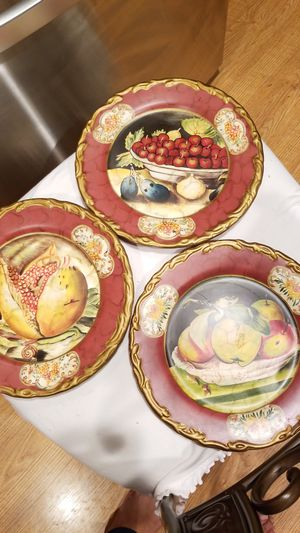 Decorative painted plates for Sale in Falls Church, VA