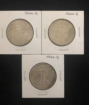 1944 S Walking Liberty half dollars for Sale in Gilbert, AZ