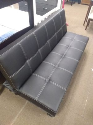 Leather Futon for Sale in Glendale, AZ
