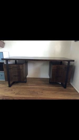 Wood/Metal Desk for Sale in San Diego, CA