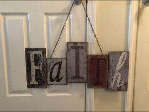 Rustic Metal Wall Decor 12x30 for Sale in Spring Hill, TN