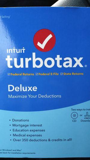 Intuit turbotax Deluxe for Sale in Virginia Beach, VA