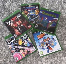 A Bunch Of Xbox Games With Disk  for Sale in Delray Beach, FL