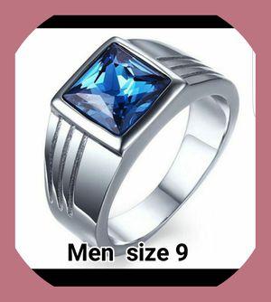 ELEGANT MENS WEDDING RING SIZE 9 (BRAND NEW ) for Sale in Brandon, FL