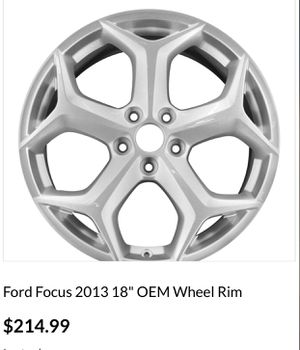 Ford Focus ST OEM Rims for Sale in San Diego, CA